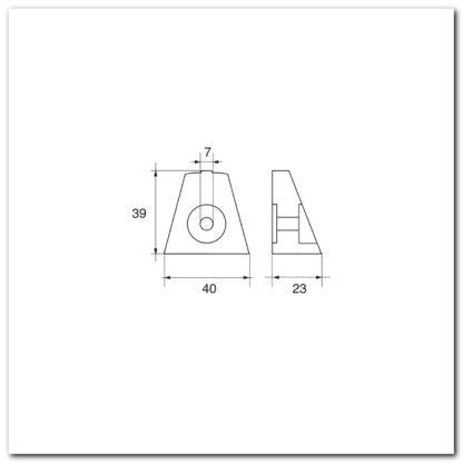 anodo suzuki omc 191142 dimensiones