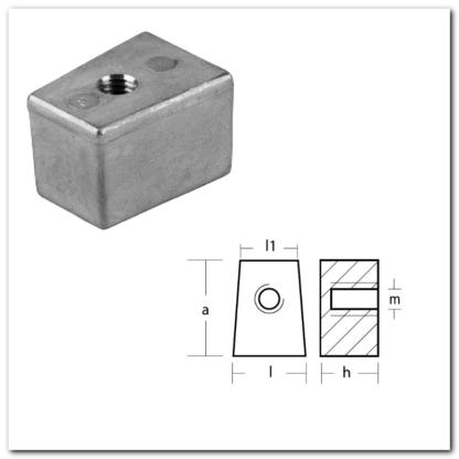 anodo cubo dimensiones
