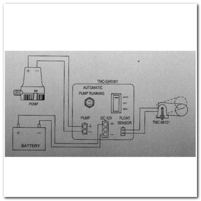 Conexión bomba - interruptor