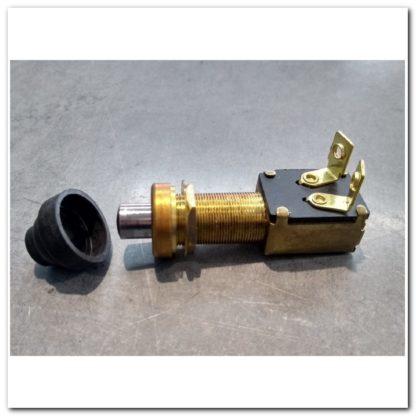 interruptor pulsador 15A con protector neopreno