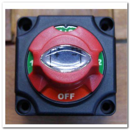 Interruptor baterías botón