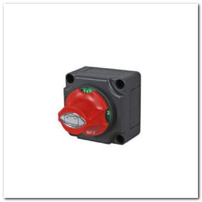 Interruptor botón dos baterías
