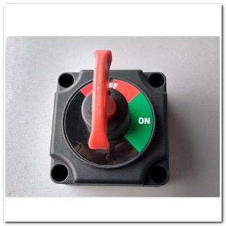 Interruptor bateria llave extraible