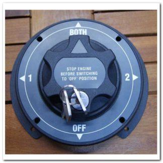 Interruptor 2 baterias con llave