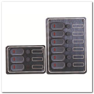Panel de control aluminio 3A