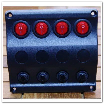 panel 3A10024bk 4 interruptores